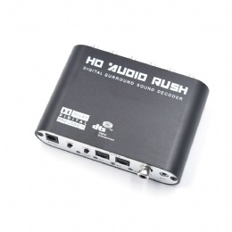 Digital to 5.1CH analog audio decoder